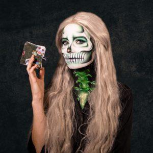 make-up halloween maquillage